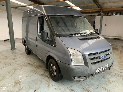 2008 Ford Transit Grey 2.2 85 T300 Spares Repairs 129K Fsh High Top  Sold