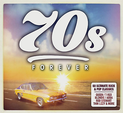 70's FOREVER 3 CD ALBUM SET - VARIOUS ARTISTS (Released AUGUST 16th 2019)