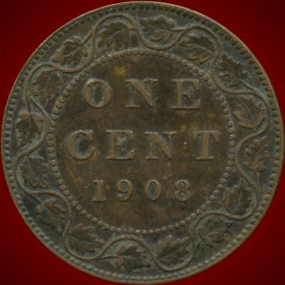 1908 Canada Large Cent Coin