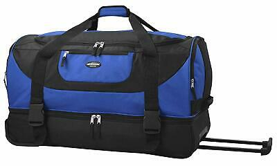 "Travelers Club 30"" ADVENTURE Double Compartment Rolling Duffle"