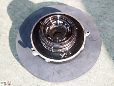 Polaroid MP-4 Lens Tominon 1:4,5 for = 105mm with Closure 1 - 1/125 + B (Top)