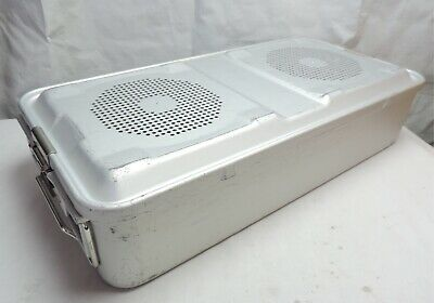 Aesculap Sterilization Case Container JN441 JK489 Surgical Medical Dental Vet