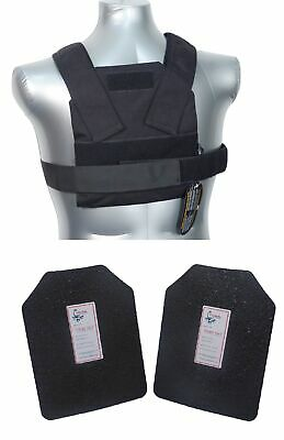 Tactical Scorpion Level III+ / AR500 Body Armor Bobcat 8x10 Concealed Vest