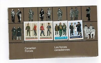 1985 Thematic Collection # 33 Canada Stamps # 1007  1008 1043   Canadian Forces