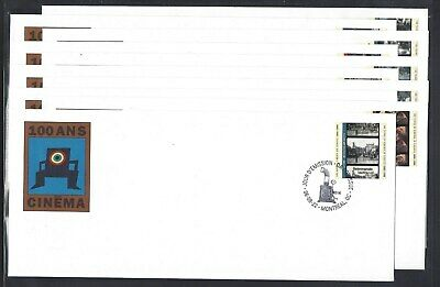 1996 100 years of Cinema in Canada (1896-1996) Limited FDCs