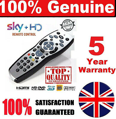 100% New GENUINE + PLUS HD REV 9 TV REPLACEMENT Remote + FREE Delivery Universal
