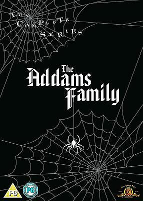 ADDAMS FAMILY Complete Seasons 1-3 DVD 9 Discs Set 64 Episodes New & Sealed