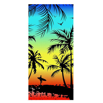 UK Extra Large Microfibre Lightweight Beach Towel Speed Dry Camping Travel Towel