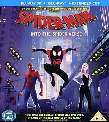 Ralph Breaks the Internet + Spider-Man into the Spider-Verse 3D Blu-ray 2in1