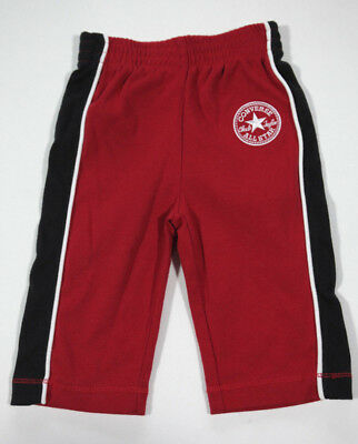 Neuf All Star Converse Pantalon Bébé Pantalon Garçons Garçons Shorty Rouge 18