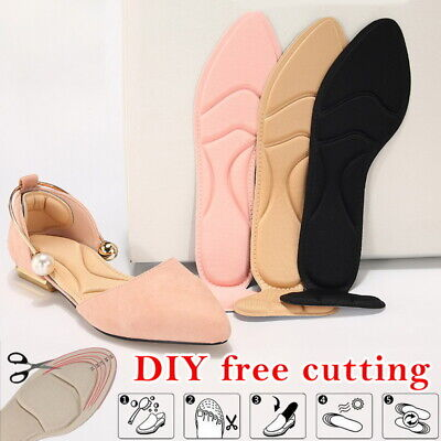 Women 4D Anti-slip Soft Adhesive High Heel Pad Grips Shoe Insoles Inserts Insole