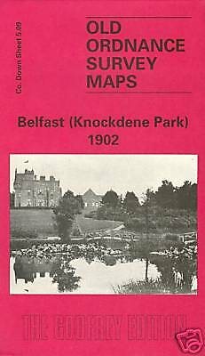 Old Ordnance Survey Map Belfast Knockdene Park 1902