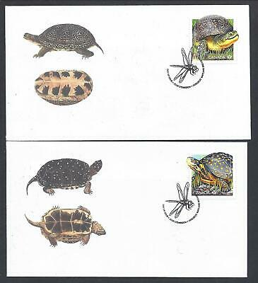 2019 Endangered Turtles Limited FDCs with stamps from SS
