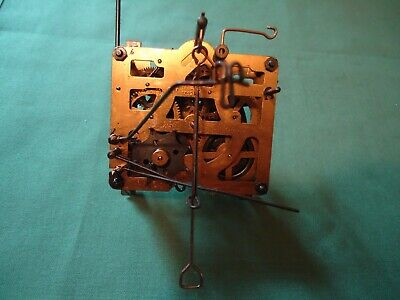 Vintage Regula KarlsRuhe 25 Cuckoo Clock Movement for parts or repair 1B