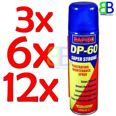 250Ml Dp 60 Penetrating Releasing Cleaning Maintenance Spray Car Lubricant New