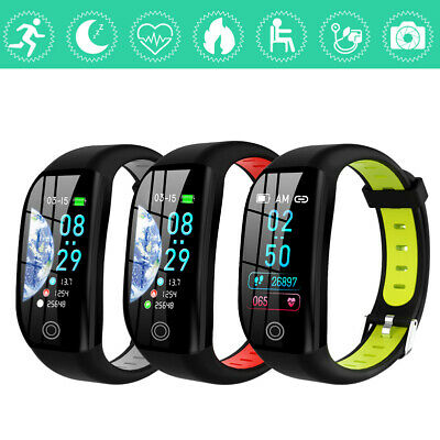 F21 Bluetooth Smart Watch Heart Rate & Blood Pressure Monitor Fitness Tracker CY