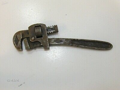 "STILLSON PIPE WRENCH 10"" Adjustable Wrench made in U.S.A. by the Walworth Co."