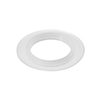 Silicone Kitchen Bathroom Strainer Washer Drain Gasket 39mm OD White