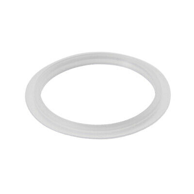 Kitchen Bathroom Silicone Strainer Washer Drain Gasket 42mm OD White