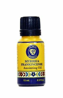 Frankincense and Myrrh anointing Oil from Ein Gedi in its new and amazing look