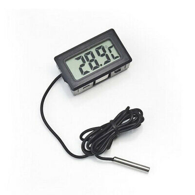 LCD Digital Aquarium Fish Tank Vivarium Reptile / Fridge Freezer Thermometer D0L