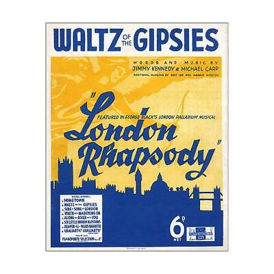 "14285256 10""x8"" (25x20cm) Print of London Music Cover"