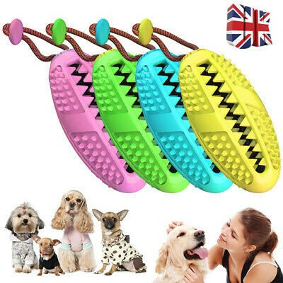 Pet Dog Bone Shape Oral Care Toothbrush Brushing Chew Toy Stick Teeth Cleaning