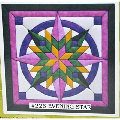 Quilt-magic No Sew Wall Hanging Kit-evening Star