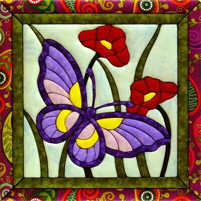 Quilt-magic No Sew Wall Hanging Kit-butterfly