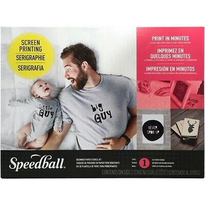 Speedball Paper Stencil Beginner Screen Printing Kit-