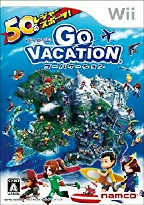 Nintendo Wii Game Go Vacation