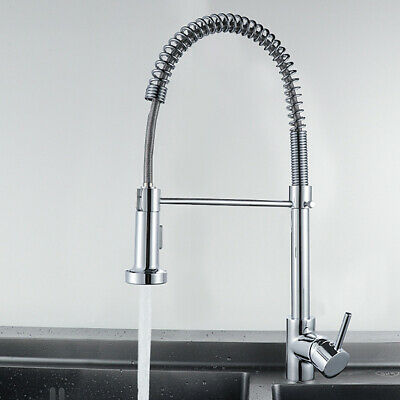 Spring Kitchen Faucet Hot and Cold Multi-Function Mixing Valve Pull Sink Faucet