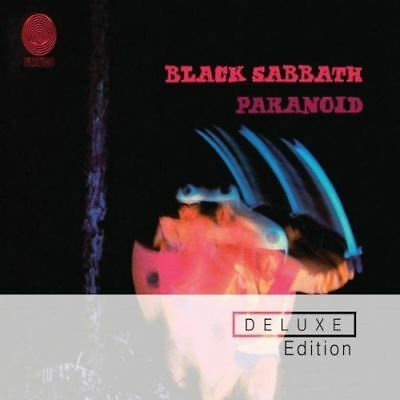 BLACK SABBATH PARANOID 2 CD & DVD DELUXE COLLECTOR'S EDITION (2009 Remastered)