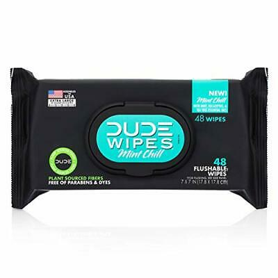 Dude Products Wipes Flushable Wipes Dispenser  Assorted ScentNames , Sizes