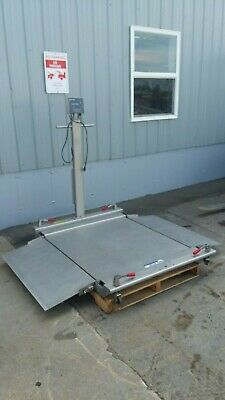 Mettler Toledo 1000Lb Floor Scale With Panther Pthk 1000-000 Indicator