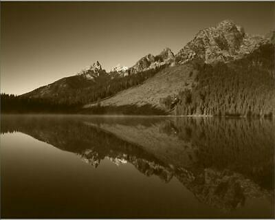 "13984512 10""x8"" (25x20cm) Print USA, Wyoming, Grande Teton Nation..."