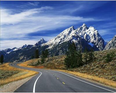 "11190410 10""x8"" (25x20cm) Print USA, Wyoming, Grand Teton Nationa..."