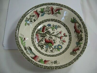 Johnson Bros. Indiann Tree pattern Cereal Bowl,  beautiful colours, England made