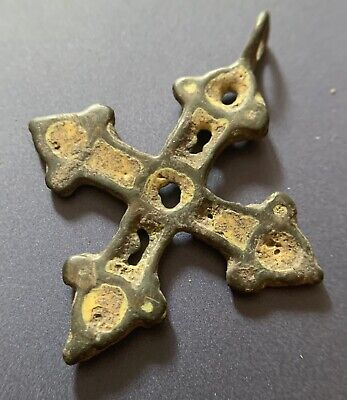 Medieval Viking Pendant 9th-11th Century AD Ancient Cross