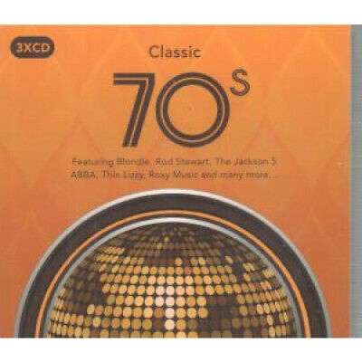 CLASSIC 70S Various TRIPLE CD Europe Spectrum 2016 59 Track 3 Disc Compilation