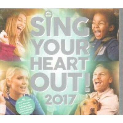 SING YOUR HEART OUT 2017 Various DOUBLE CD Europe Universal 2017 40 Track 2