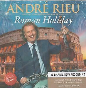 ANDRE RIEU Roman Holiday CD/DVD Europe Polydor 2015 20 Track 2 Disc Set
