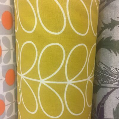 Orla Kiely Fabric Retro Stem Flower-Cotton
