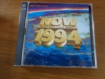 Various : Now Thats What I Call Music! 1994 CD album,2 discs set,free postage uk