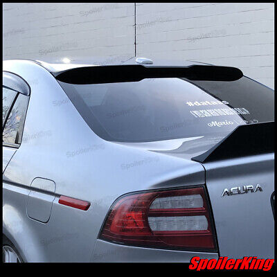 Painted BRS Type PUF Rear Window Roof Spoiler Wing For 2004-2008 Acura TL Sedan