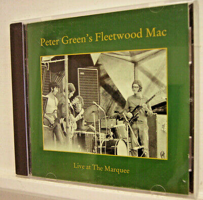 PETER GREEN'S FLEETWOOD MAC - 'Live at the Marquee' - (CD 1992)**MINT**
