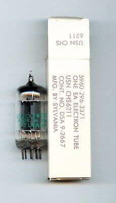 6211 - Sylvania  Valvula  ( Electronic Tube )  ( Nos ) Tested