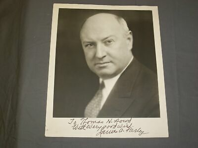 U.s. Postmaster General James A. Farley 8 X 10 Autographed Photo - J 4058