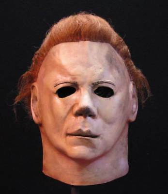 Michael Myers Halloween Ii Official Licensed Costume Deluxe Mask Trick Or Treat