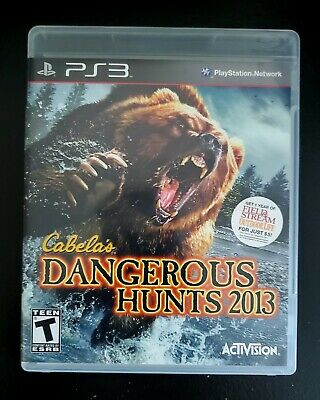 Cabela's Dangerous Hunts 2013 - PS3 - Sony PlayStation 3